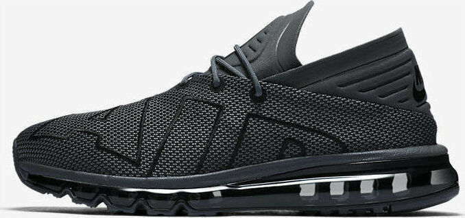 hommes NIKE AIR MAX FLAIR SIZE 10 EUR 10 EUR 45 (942236 007) DARK GREY / noir