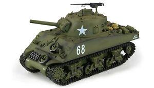 RC-Panzer-U-S-M4A3-Sherman-1-16-Metallgetriebe-IR-BB