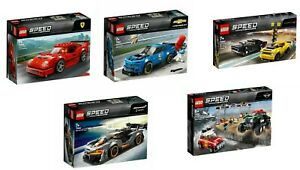 Collection Lego® Speed ​​Champions 75890 75891 75892 75893 75894 Nouveau / Ovp