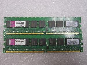 Kingston-KVR800D2E6-2G-4GB-2x-2GB-DDR2-ECC-RAM-PC2-6400-800Mhz-Server-Memory