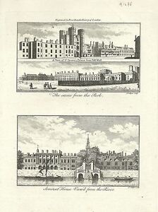Antique-map-St-James-039-s-Palace-Somerset-House