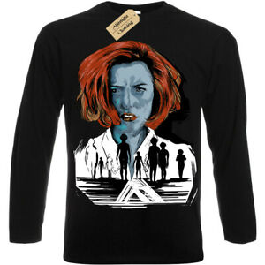The-truth-will-save-you-T-Shirt-X-Files-scully-Mens-Long-Sleeve