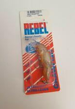 """F76 Rebel 2"""" Wee Crawfish 1/5 Oz Ditch Brown Fishing Lure"""
