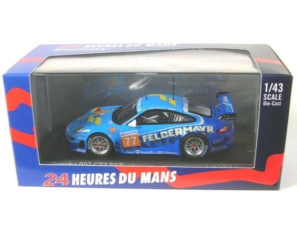 Porsche 997 GT3 rsr team felbermayr-predon No.77 24H lemans 2010 (lieb - Lietz