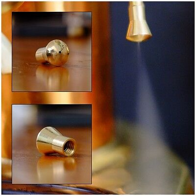 Single tip for Europiccola and Proffesional La Pavoni Brass Steam Tube Tip