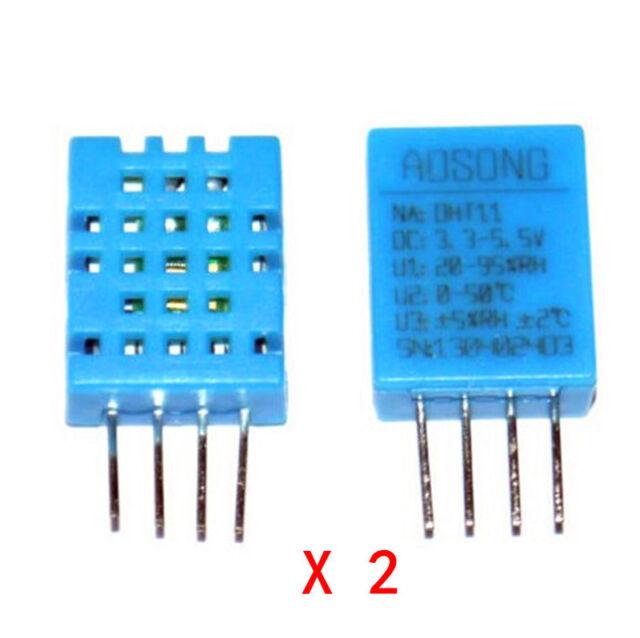 2pcs DHT11 Digital Temperature and Humidity Sensor Temperature sensor Arduino