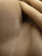 1 yd HIGH QUALITY TAUPE WOOL BLEND, GABARDINE SUIT FABRIC.