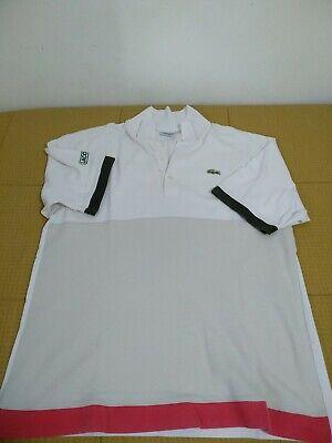 Abile Lacoste Sport T-shirt Vintage Maglietta Sportiva Vendendo Bene In Tutto Il Mondo