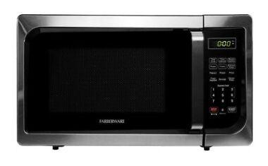 Farberware Microwave Oven Classic 900 Watt Stainless Steel