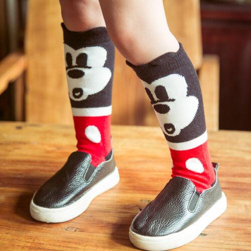 Vintage Mickey Baby Toddler Funky Socks