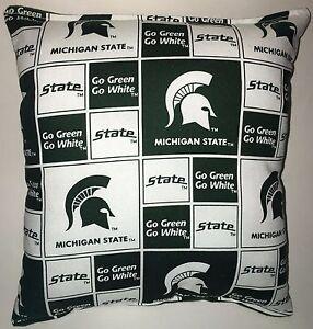 Spartan-Pillow-Michigan-State-Football-Pillow-Pillow-NCAA-HANDMADE-In-USA