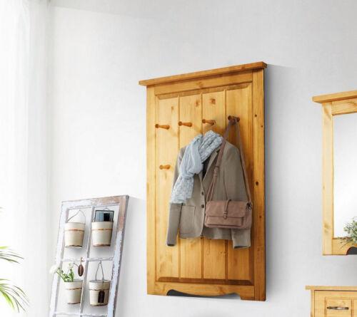 Wandpaneel Garderobenpaneel Paneel Flur 80cm Kiefer massiv natur geölt 50847411
