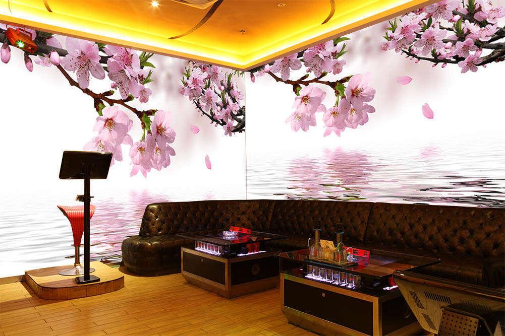 Peach Blossom Fairy 3D Full Wall Mural Photo Wallpaper Printing Home Kids Decor