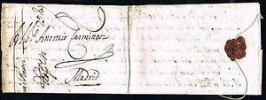 PREFILATELIA-BOLONIA-A-MADRID-13-de-Noviembre-de-1657