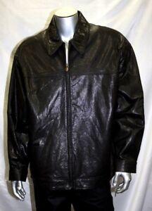 baf154af9 Men's Pelle Pelle Black 100% Genuine Leather Jacket | eBay