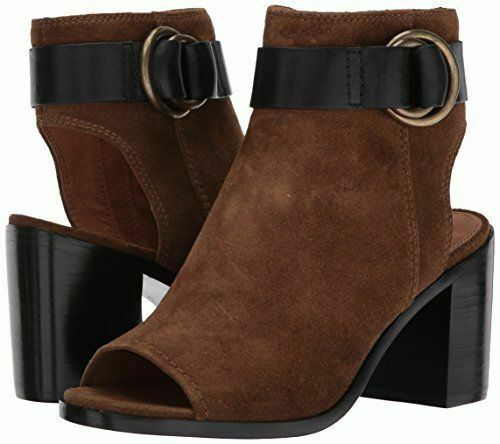 358 NEW Womens FRYE DANICA HARNESS CHESTNUT SUEDE BOOTS SHOES SANDALS 8.5
