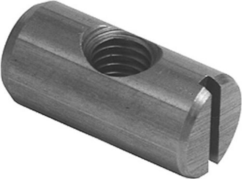 Bright Steel M6 Cross Dowel Centric With M6 Centre Thread