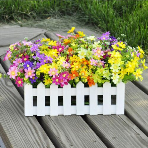 1 Bouquet 28 Heads Dedicated Trendy Fake Daisy Silk Flower Home Wedding Decor.*