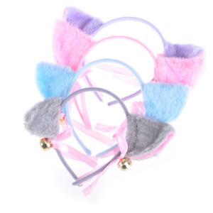 Fashion-Cosplay-Anime-Costume-Cat-Fox-Ears-Bell-Hair-Clip-Head-Hoop-Party-P0C-ni