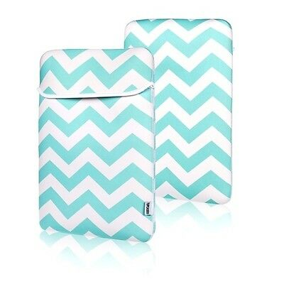 "Chevron HOT BLUE Sleeve Bag Cover for All 13"" Macbook / Air / Pro / Chromebook"
