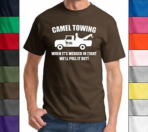 Camel-Towing-Funny-T-Shirt-Adult-Humor-Rude-Gift-Tee-Shirt-Tow-Truck-Unisex-Tee