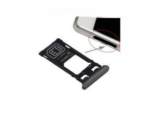 Fach Unterstützung Brieftasche Karte SIM Und Micro SD Single Für Sony Xperia, Sw