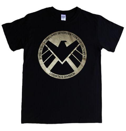 S.H.I.E.L.D Agents T-shirt S 5XL avengers movie tv comic logo MENS LADIES KIDS
