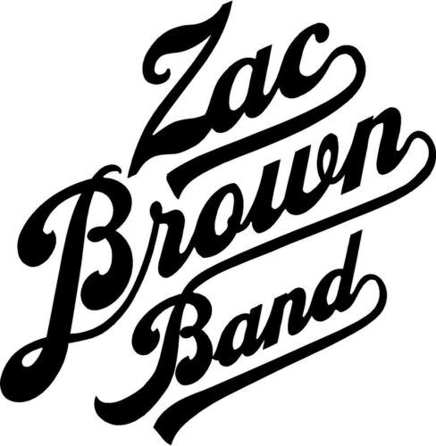 Zac Brown Band Decal Sticker Free Shipping