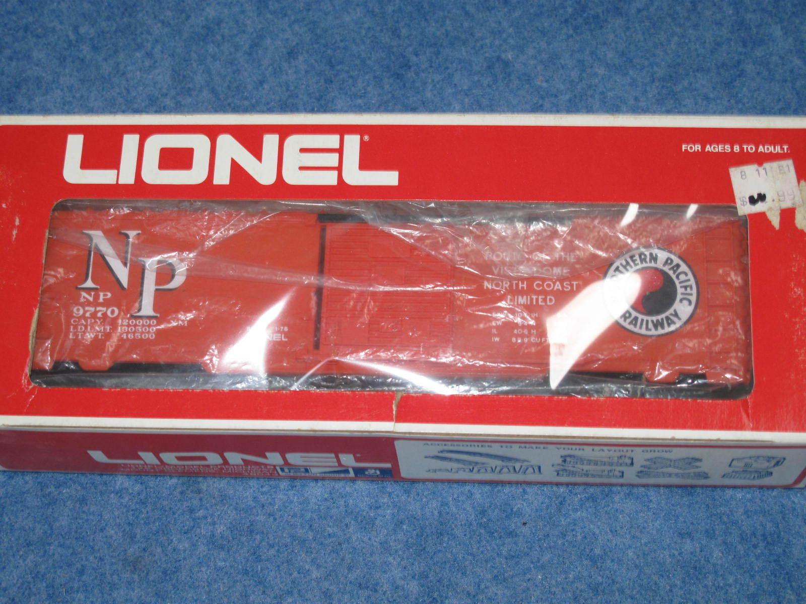 1976 Lionel 6-9770 Norte Pacífico coche de caja L2161