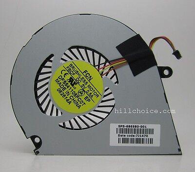 CPU Fan For HP ENVY4 ENVY6 ENVY4-1007TX 1008TX 1024T SPS-686580-001 Laptop Fan