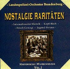 """LANDESPOLIZEI-ORCHESTER BRANDENBURG """"Nostalgie-Raritäten"""" NEU & OVP"""