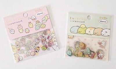 San-X Sumikko Gurashi creatures in the corner co-stars stickers seal flakes