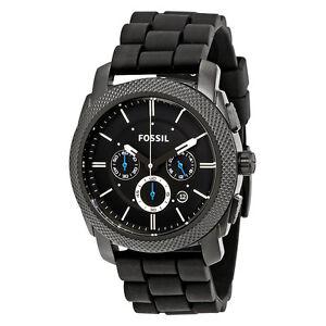 EBAY:FOSSIL MACHINE系列 FS4487 男士时装腕表, 现仅售$73.99, !