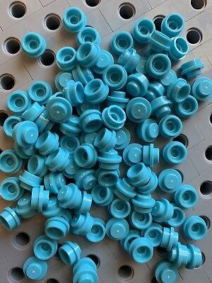 NEW LEGO X200 White 1x1 Round Plates Caps Dots Bricks 4073