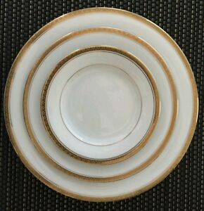 Image is loading Noritake-034-Richmond-034-3-pc-Place-Setting- & Noritake \