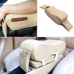 1PC Car General Cover Rest Center Box Armrest Pillow Memory Cotton Foam Cushion