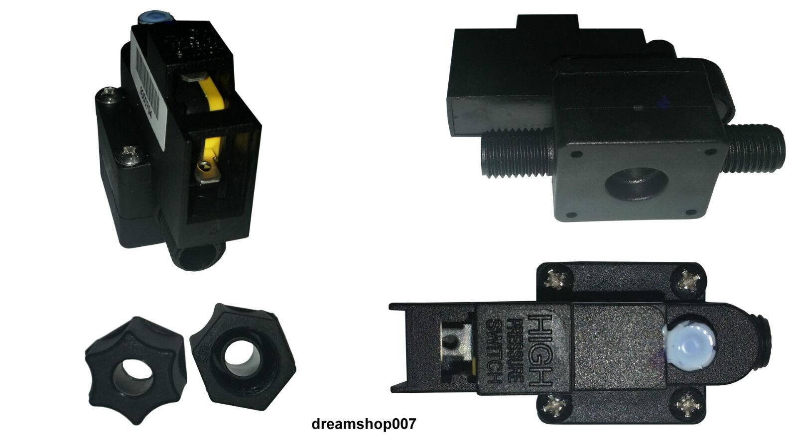 5 x Pressostato di massima pressione per pompa booster per Depuratore Osmosi