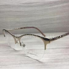 e6aa3bb91e Burberry 0be1298 Eyeglasses Light Gold 1145 Size 53mm for sale ...