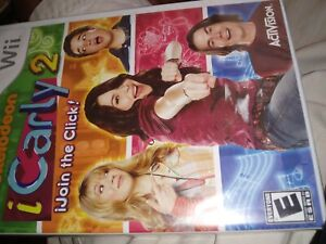 I-CARLY-2-JOIN-THE-CLICK-WII-VIDEO-GAME-Activision-brand-new