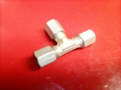 Hydraulikleitung Verbinder 6mm T Stück Bremsleitung  Reparatur IFA DDR VEB TGL
