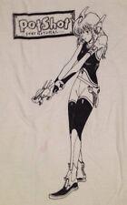 Potshot Stay Natural.... T-shirt XL X-Large White Anime Ska Punk Vintage Rare OP