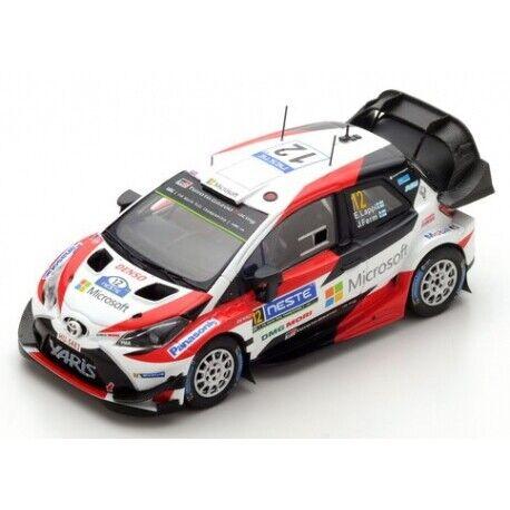 Spark Model TOYOTA YARIS WRC  12 2017 Microsoft Thé 1 43 S5169