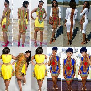Bohemia-Women-Sleeveless-Traditional-African-Print-Party-Dress-Casual-Mini-Dress