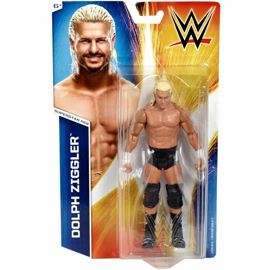 WWE Mattel Basic Series 54 Dolph Ziggler Wrestling Action Figure