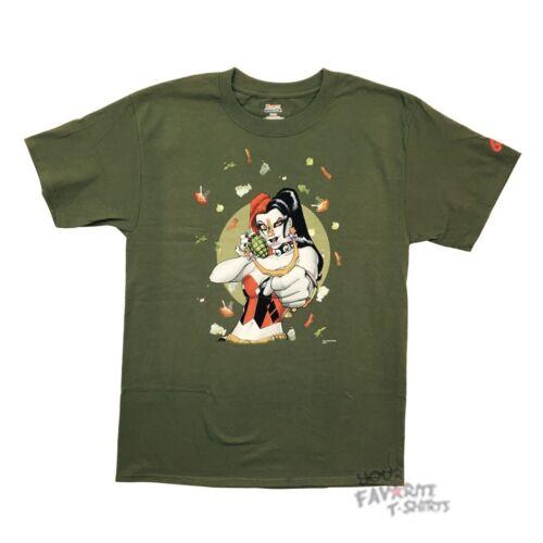 Harley Quinn Stink Bomb DC Comics Premium Licensed Adult T-Shirt