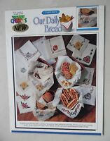 Our Daily Bread Cloths Counted Cross Stitch Patterns 11 Designs Color Arts