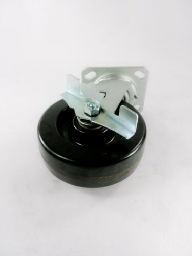 "6/"" x 2/"" Phenolic Wheel Caster Swivel with Brake 4EA"
