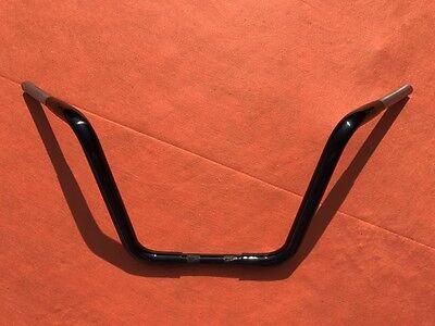 Manillar Ape Hanger 12 para Harley-Davidson Road Glide 15-19 Negro