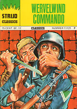 STRIJD CLASSICS 11121 - WERVELWIND COMMANDO (1974)