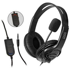 EAXUS® Gaming Headset für Playstation 4 & 5 Kopfhörer 3,5mm XBOX Switch PS4 PS5